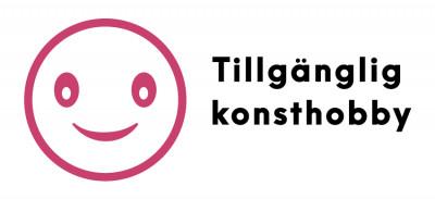 Tillgägnlig konshobby logo.