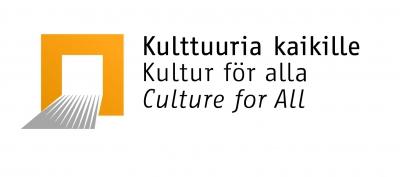 Kulttuuria kaikille -palvelun logo.