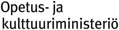 Opetus- ja kulttuuriministeri�n logo.