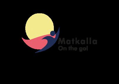 Matkalla-hankkeen logo.