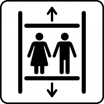 Symbol of lift.