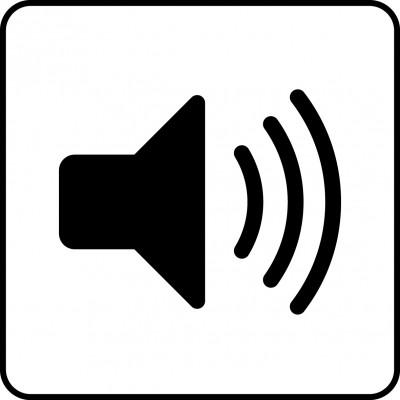 Symbol för lyssningsfunktion.
