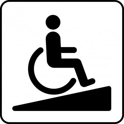 Symbol of ramp.