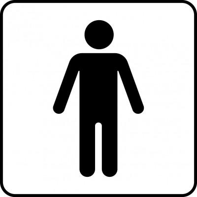 Symbol för man.
