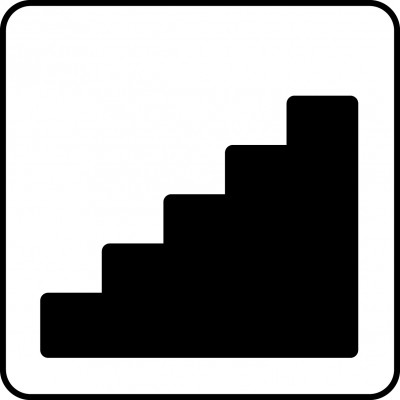 Symbol of staircase.