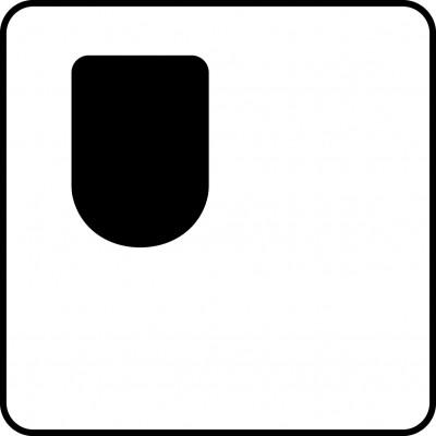 Esteetön wc, tilaa vasemmalla