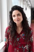Kuvassa Razan Askar